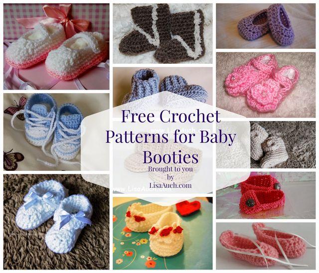 Free Crochet Patterns Baby Booties | FREE Crochet Patterns | Bloglovin\'