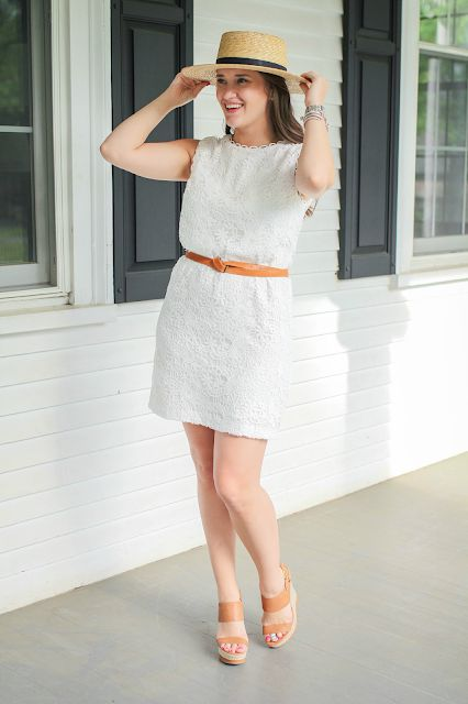 193ce86bcb5b85 Janessa Leone Klint Hat + Cynthia Steffe Rayna Dress | Covering the ...