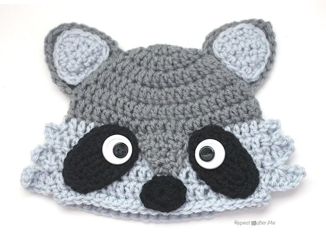 Earlier this week I posted the pattern and tutorial for a CROCHET FOX HAT  and the more I looked at the it 3eb97d7a5dcb