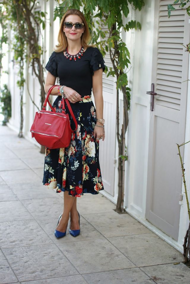 5088640542da When I bought this Autumn floral midi skirt on Asos
