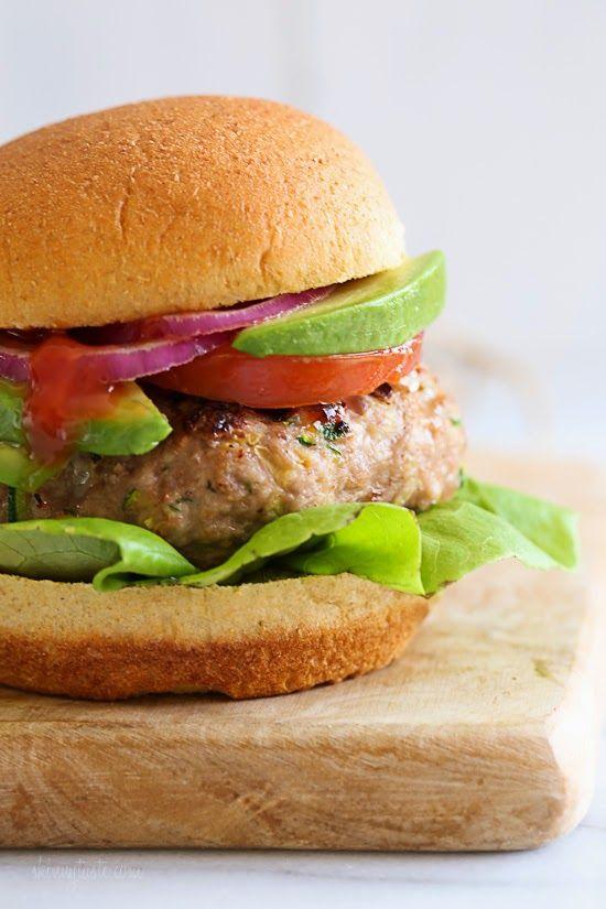 Turkey Burgers With Zucchini Skinnytaste Bloglovin