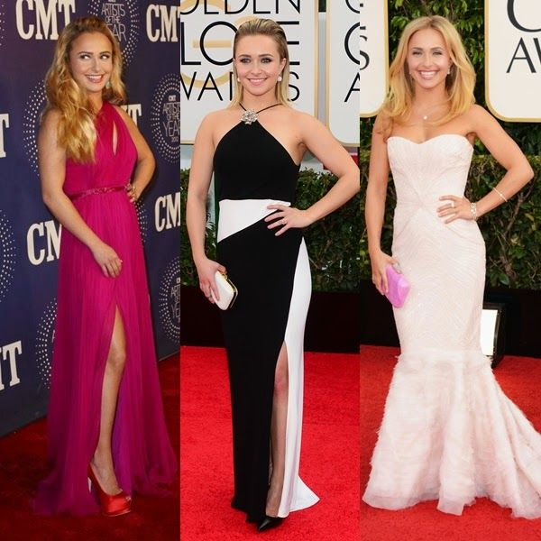 cfd03fabd También se llevan mucho los vestidos largos con abertura en la pierna (al  estilo Angelina Jolie)