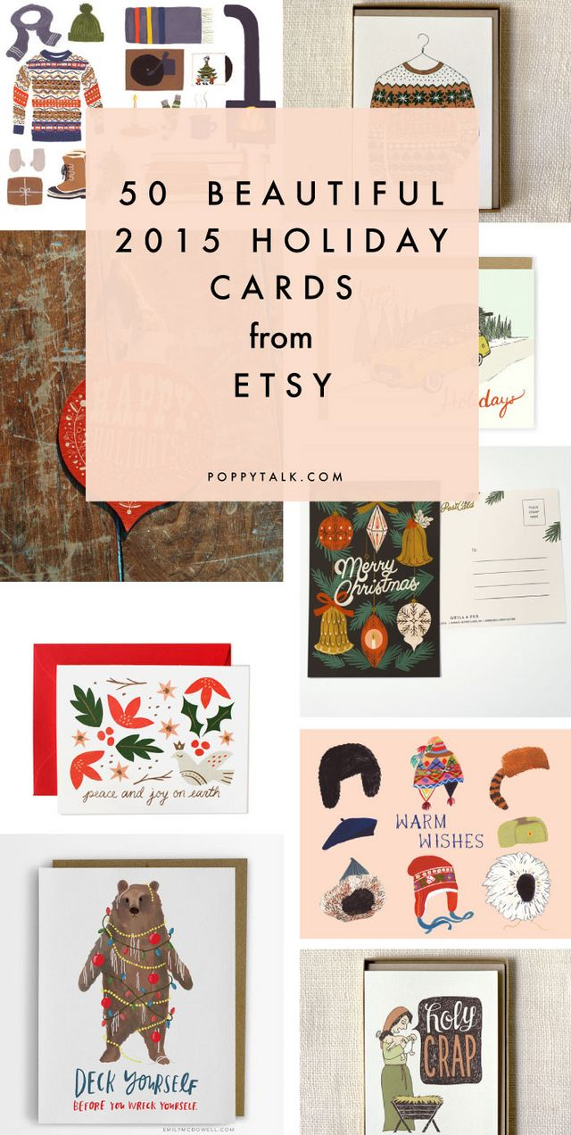 50 beautiful holiday cards from etsy 2015 holiday card round up 50 beautiful holiday cards from etsy 2015 holiday card round up part i solutioingenieria Choice Image