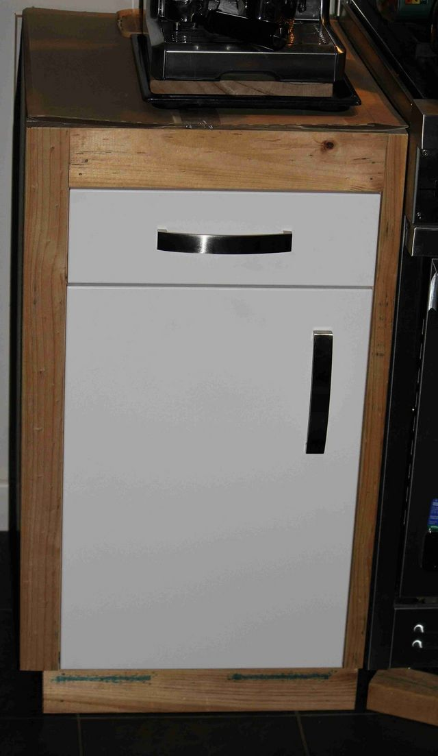 How-to: Make custom cabinets for IKEA kitchen doors and