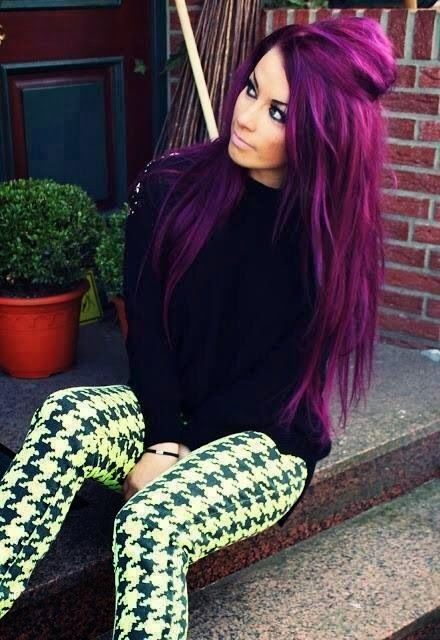 Purple Hair Color Ideas - Shades Of Purple | Hairstyles & Hair Color ...