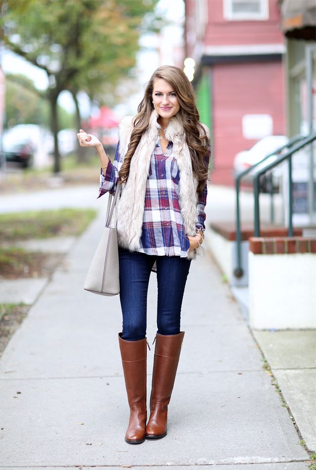 Faux Fur Amp Plaid Southern Curls Amp Pearls Bloglovin