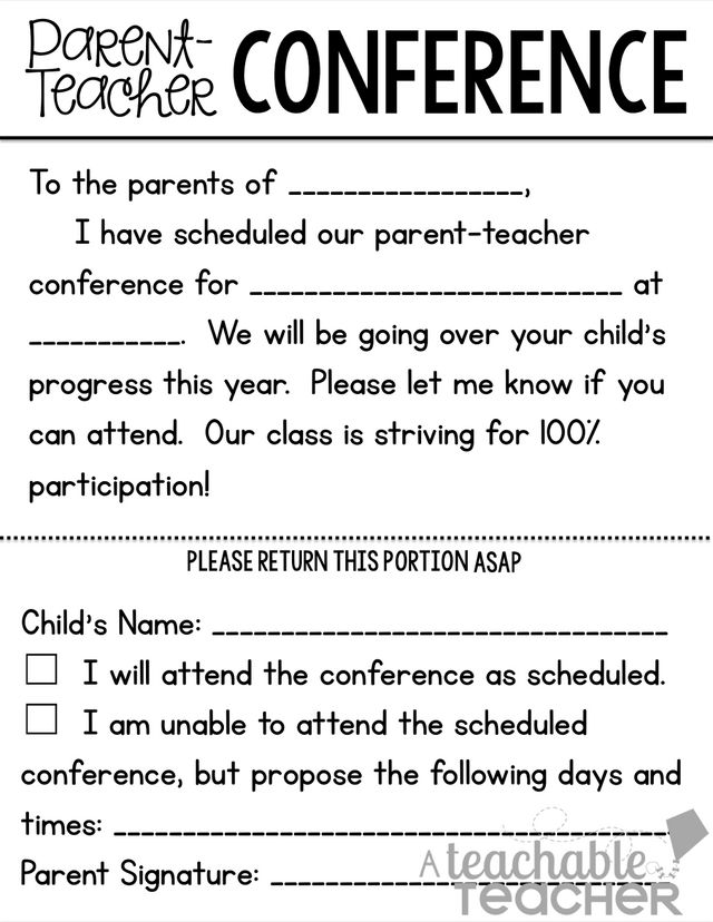 ParentTeacher Conference Tips and Freebies Linky Party – Teacher Self Evaluation Forms