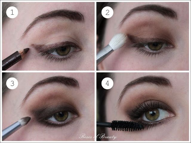 tutorial soft and smokey cat eyes roses of beauty bloglovin. Black Bedroom Furniture Sets. Home Design Ideas
