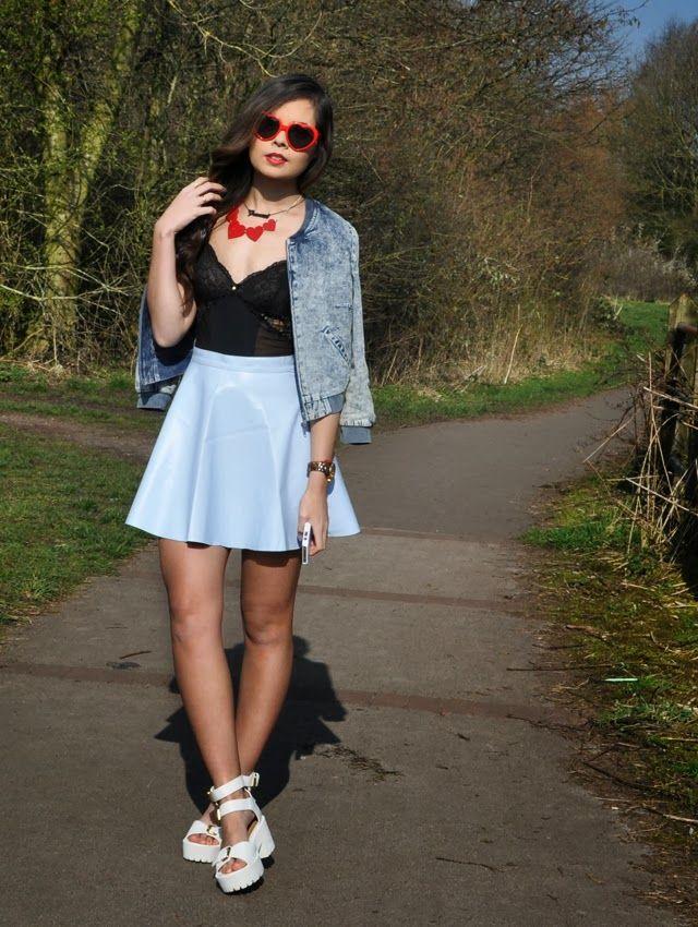df26876d Outfit: Heart Shaped Sunglasses. | Frances Cassandra- UK Fashion ...
