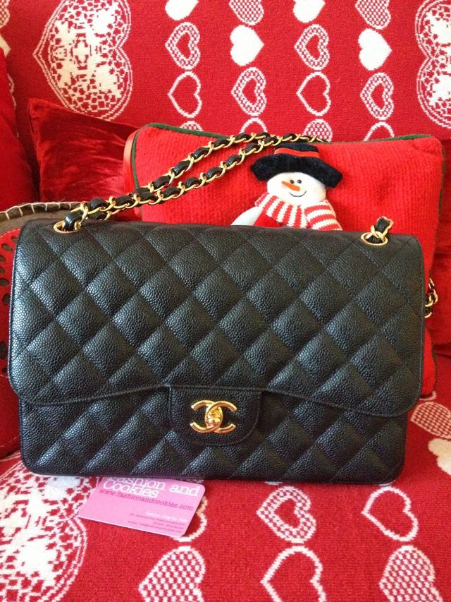 a8555c77a2e9 My first Chanel Classic Flap bag | Fashion and Cookies | Bloglovin'