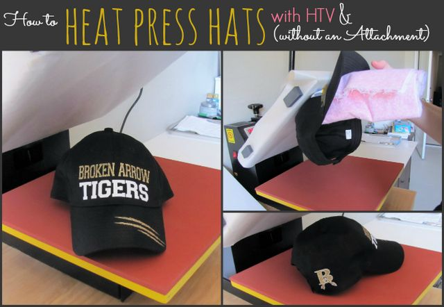 How To Heat Press A Hat No Special Attachment Needed