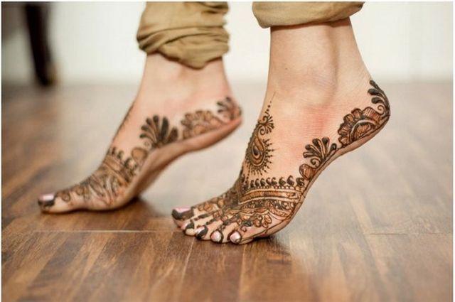 Mehndi Ankle Instagram : Best latest modern henna designs stylish by nature bloglovin