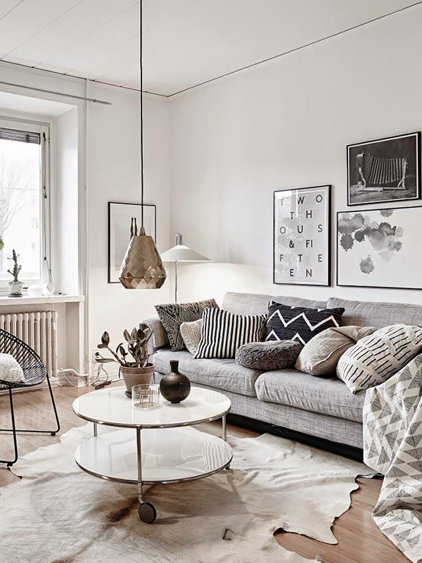 A home for a mid week touch of calm my scandinavian home for Calm living room ideas