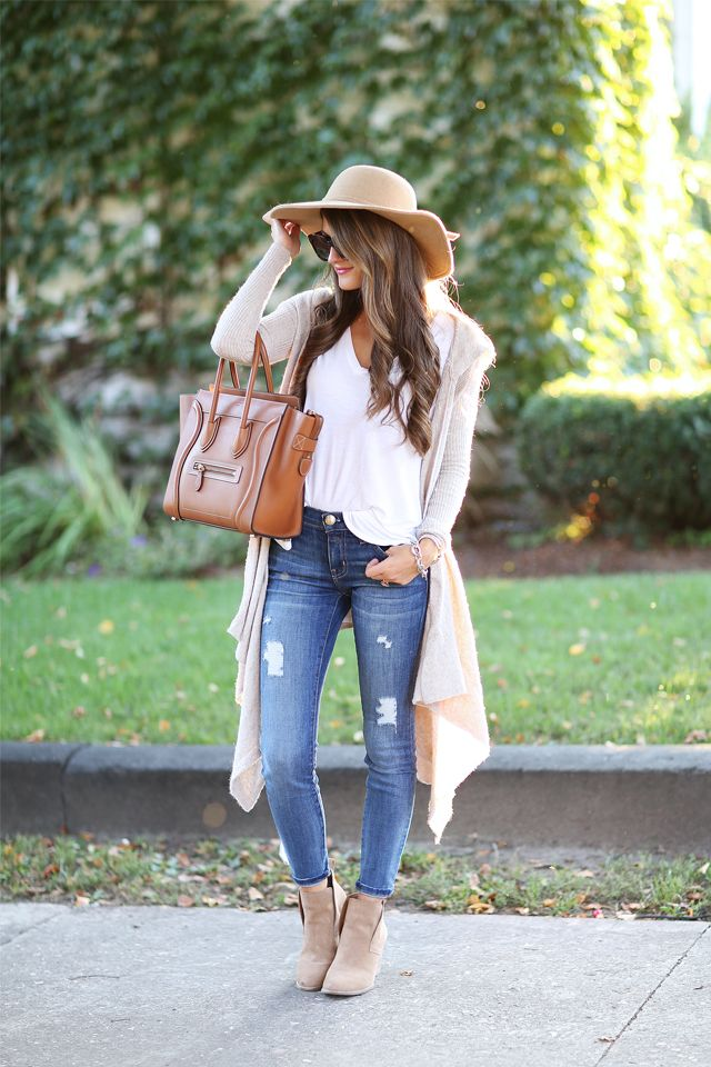 Wedge Bootie Fall Fashion