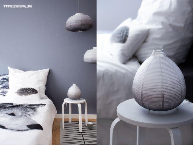 Diy Ombre Papierlampe Und Neue Bettwäsche Von By Nord Nicest