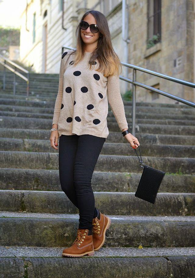 Un Fashion Maglione Blog Timberland Le E Pois Mie Nuove Nameless A qXzWCwITcx