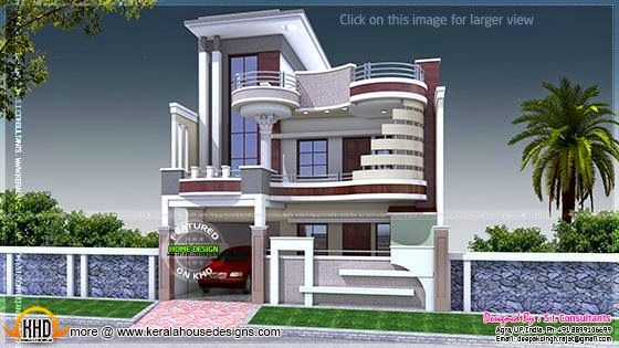 Modern decorative house kerala home design bloglovin Free house map design images