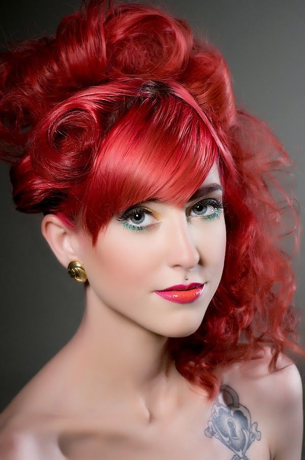 Shades Of Red Hair Red Hair Color Ideas Hairstyles Hair Color