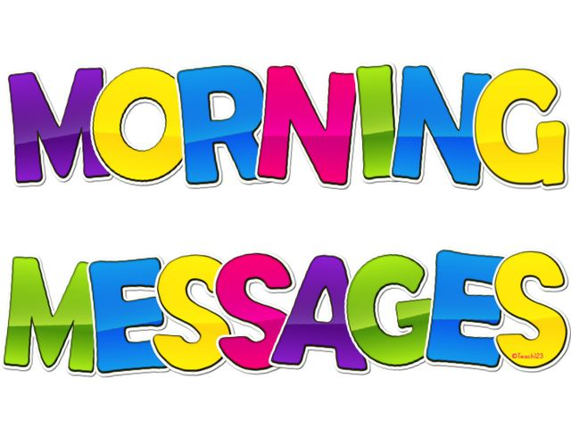 Morning Messages - Differentiated   Teach123   Bloglovin'