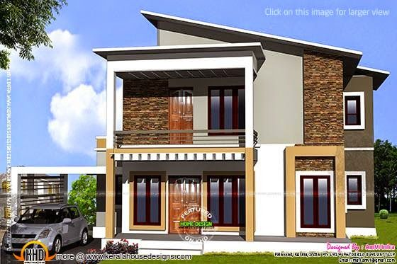 Elevation With Free Floor Plan Kerala Home Design