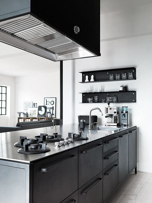 black kitchen inspiration the design chaser bloglovin