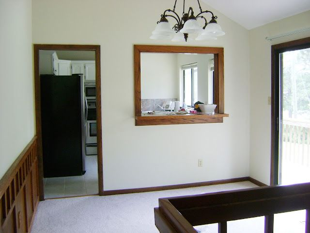 Internal Knock Through Between Kitchen And Dining Room: How We Updated Our 1970's House On A Budget (and The