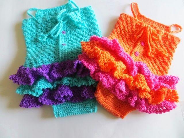 Baby Sun Suit Romper Crochet Pattern Pdf Crochet Pattern Newborn