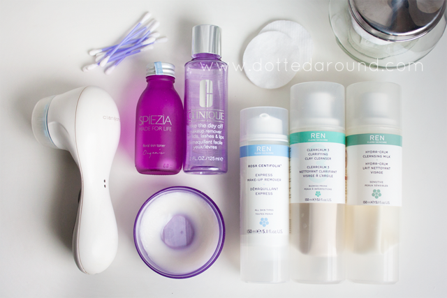 Makeup removal routine  78f082fbc207