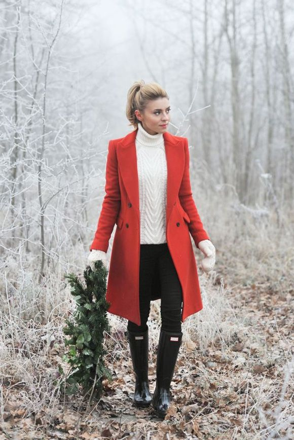 I Want/Need a Red Coat for Christmas | *Lovely Clusters - The