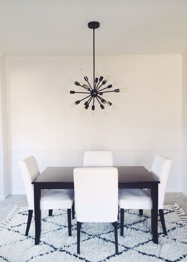 This Table Was Purchased On Craigslist A Few Years Ago When We Lived In Our Townhouse And The Chairs Are From Ikea I Think Might Be Too Dark