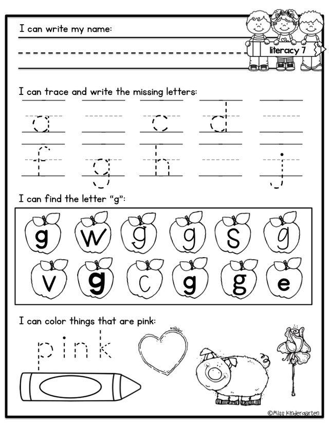Kindergarten Morning Work | Miss Kindergarten | Bloglovin'
