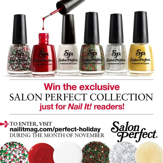 Salon Perfect Nail It! Holiday Exclusive Swatch and Review ...