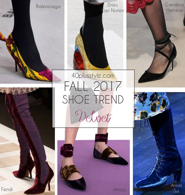 2be3b1a6b And you'll have plenty of gorgeous shoe choices in velvet this fall.  Regardless of whether you choose a flat, heel, boot or pump, ...