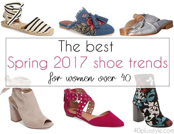 The best shoe trends for Spring 2017