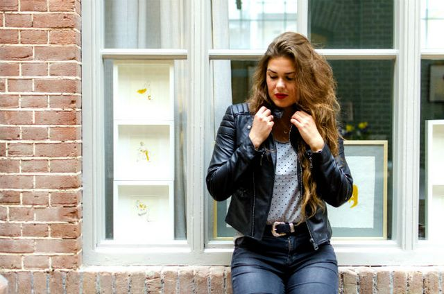 bcea3f54e35 LOOK | LEATHER | My Daily Fashion Dosis | Bloglovin'