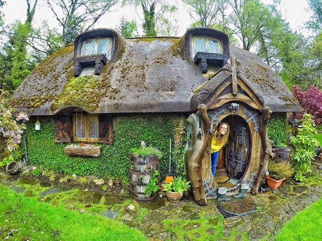 Lord of the Rings' Super Fan Builds His Own Real-Life Hobbit