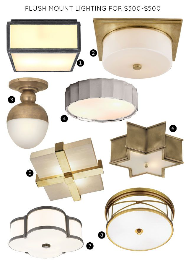 The 30 Best Flush Mount Lighting Fixtures Making It