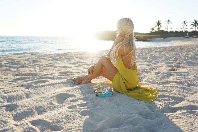 699fe73d1511 Yellow Beach Maxi Dress | Mckenna Bleu | Bloglovin'