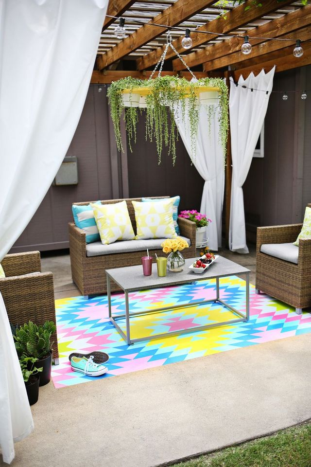Paint Your Own Outdoor Rug
