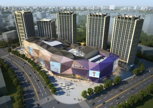 Aiming To Become A Unique Destination Full Of Surprise And Discovery The Design Proposal For Thaihot City Plaza Mall Has Multi Faceted Façade That