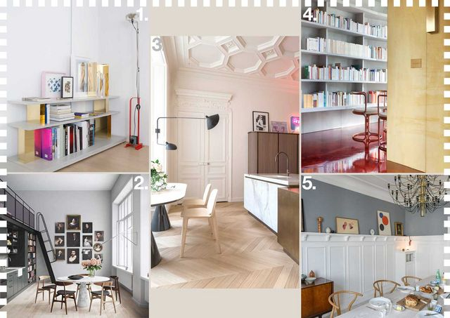 Apartment 108 By Rodolphe Parente In Paris 2 Lyceum An Old School Building Converted Into Apartments Oscar Properties