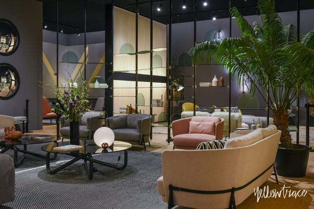 Best new furniture stands at salone del mobile 2018 for Mobili spa