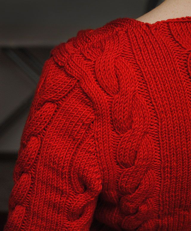 93ed673c40d1 How to knit seamless set-in sleeves from the top down
