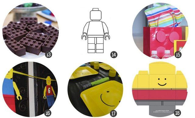 30 recursos para celebrar una fiesta inspirada en LEGO | Cosas ...