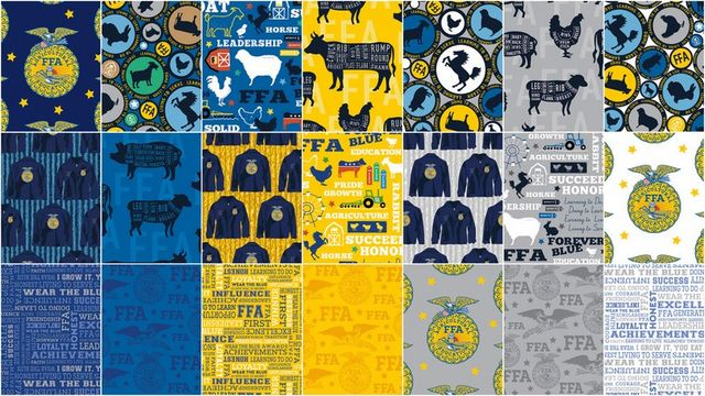 Celebrate National Ffa Week With Forever Blue Fabric The Cutting