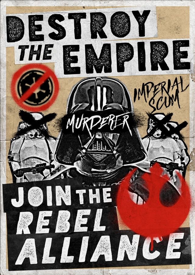 How To Create a Grungy Star Wars Propaganda Poster in Photoshop