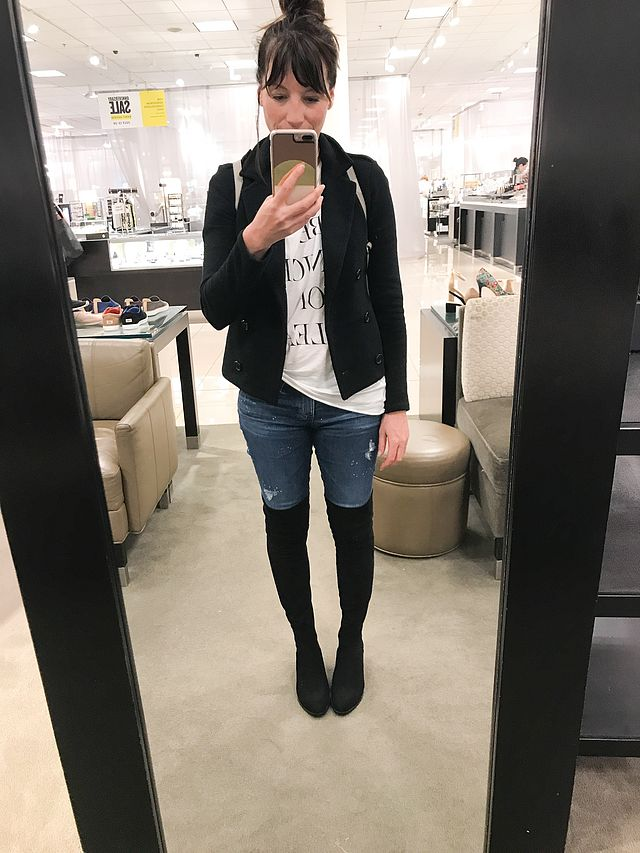 Nordstrom Anniversary Sale Shoes And Boots And Tons Of Try Ons The Mom Edit Bloglovin