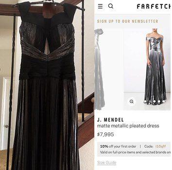 Åsa köpte klänning för 77 tusen – fick hem något helt annat  df6ae60015927