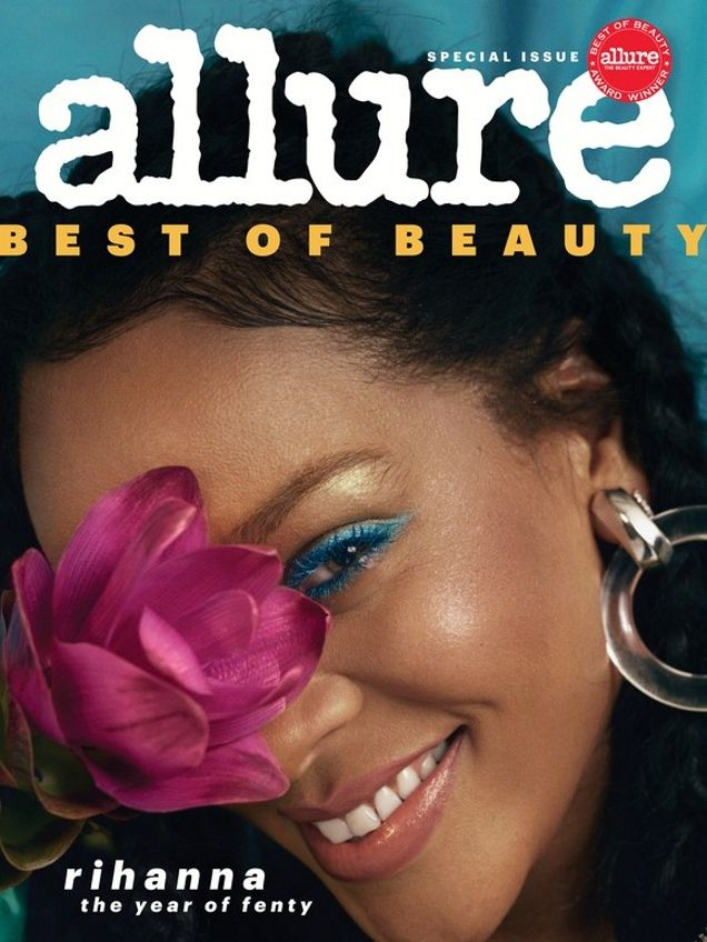 1cc7c596905a Rihanna Stars on Two Gorgeous Covers of Allure for October