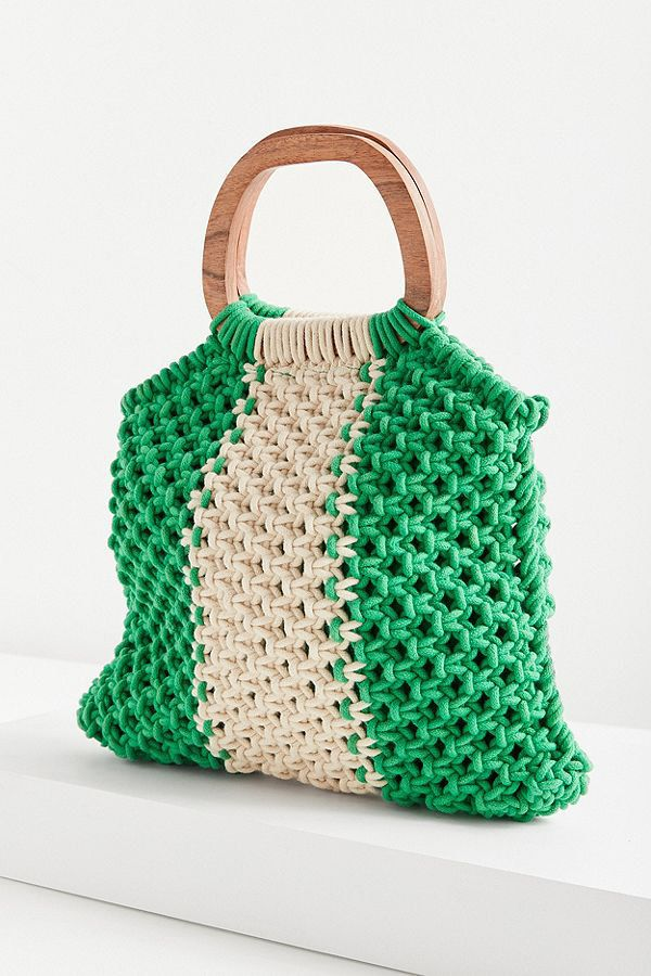 c4a60fa49622 Click through the gallery below to shop 16 versatile (and mostly  affordable) macramé bags that will be a head-turning addition to any look.